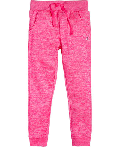 Champion Space-Dyed Jogger Pants, Little Girls