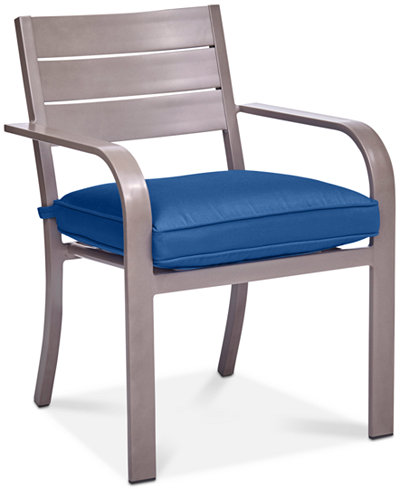 CLOSEOUT! Ocean Port Aluminum Outdoor Dining Chair, Created for Macy's