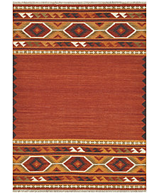 Loloi Isara Flatweave IA-01 Red/Gold Area Rugs