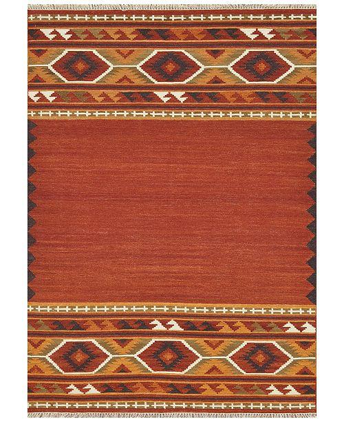 Loloi Isara Flatweave Ia 01 Red Gold Area Rugs Rugs Macy S