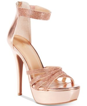 Thalia Sodi Remmy Platform Evening Sandals, Created for Macy