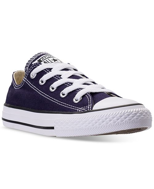 5244d9ff6af4 ... Converse Little Boys  Chuck Taylor All Star Ox Casual Sneakers from  Finish ...