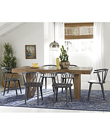 Contemporary Kitchen Tables And Chairs Contemporary dining sets macys create your look mix match dining table quick ship chairs workwithnaturefo