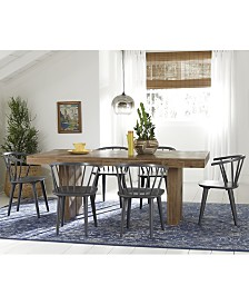 Create Your Look Mix Match Dining Table Quick Ship Chairs