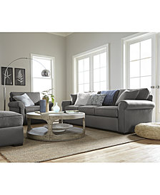Astra Fabric Sofa Collection, Created for Macy's