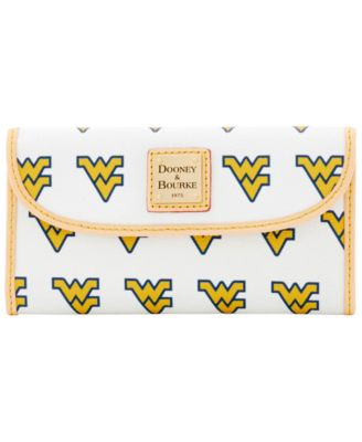 West Virginia Mountaineers Large Continental Clutch