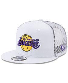 New Era Los Angeles Lakers Summer Time Mesh 9FIFTY Snapback Cap