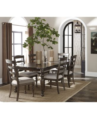Hamilton Expandable Dining Furniture Collection Created For Macys