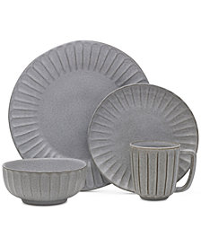 Mikasa Monterey Grey 4-Pc. Place Setting