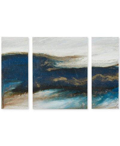 INK+IVY Rolling Waves Canvas Print Set