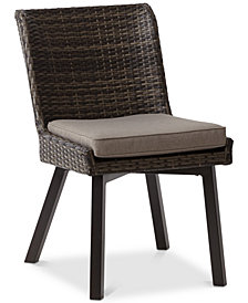 Pacifica Outdoor Side Chair (Set of 2), Quick Ship