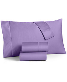 Charter Club Damask Extra Deep Pocket Queen 4-Pc Sheet Set, 550 Thread Count 100% Supima Cotton, Created for Macy's