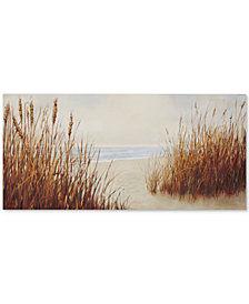 Madison Park Coast Side Gel-Coated Canvas Print
