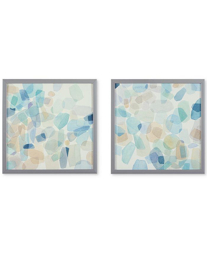 JLA Home - Gemstone Tiles 2-Pc. Deco Box Print Set