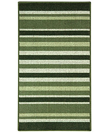"Bacova 22.4"" x 40.0"" Stripe Berber Kitchen Rug"