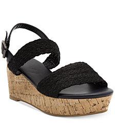 Nautica Women's Birnbach Platform Wedge Sandals