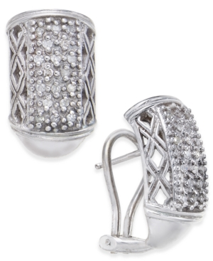 Diamond Cluster J-Hoop...