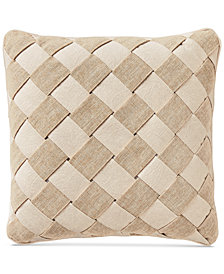 "Croscill Camille Basketweave 16"" Square Decorative Pillow"
