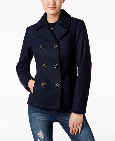 Celebrity Pink Juniors' Peacoat - Coats - Women - Macy's