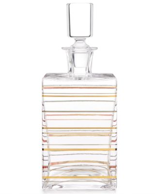 CLOSEOUT! Barware with a Twist Whiskey Decanter, Created for Macy's