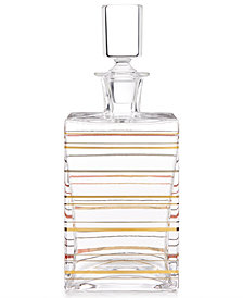 CLOSEOUT! Martha Stewart Collection Barware with a Twist Whiskey Decanter, Created for Macy's