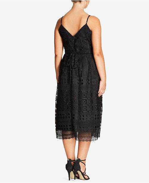 City Chic Trendy Plus Size Lace Party Dress Dresses Plus Sizes