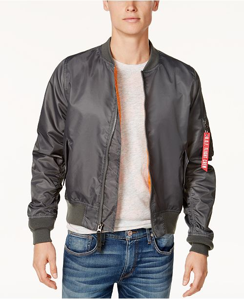 f981c46f3 Ring of Fire Men's Bomber Jacket, Created for Macy's & Reviews ...
