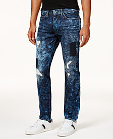 Sean John Men's Mercer Armageddon Slim-Straight Jeans, Created for Macy's