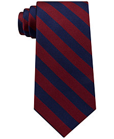 Tommy Hilfiger Men's Hampton Stripe Silk Tie