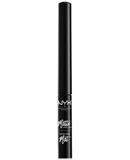 NYX Professional Makeup Matte Liquid Liner