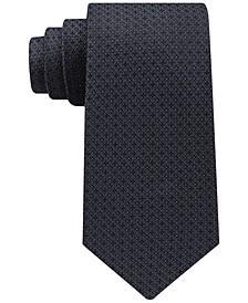 Men's Filetto Medallion Silk Tie