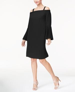 Thalia Sodi Cold-Shoulder Shift Dress, Created for Macy's