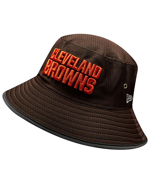 ca05cc590 New Era Cleveland Browns Training Bucket Hat - Sports Fan Shop By ...