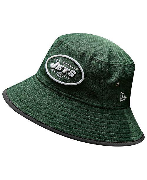 New Era New York Jets Training Bucket Hat - Sports Fan Shop By Lids ... 16b30225886