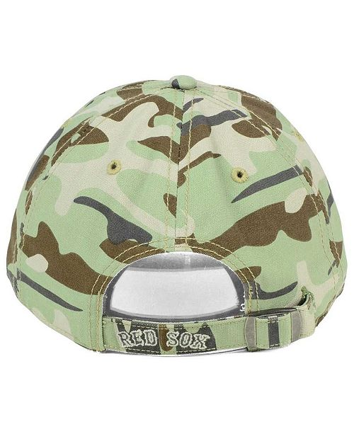 c4676675c6f 47 Brand Boston Red Sox Camo Tarpoon CLEAN UP Cap   Reviews - Sports ...