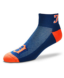 For Bare Feet Detroit Tigers The Cuff Ankle Socks