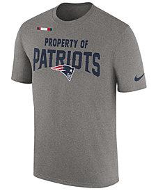 Nike Men's New England Patriots Property of Facility T-Shirt