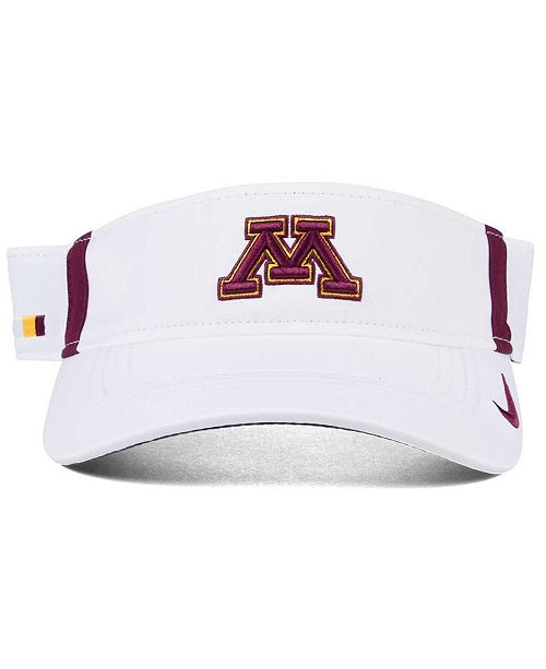 finest selection 5d97f 1c850 Nike. Minnesota Golden Gophers Sideline Aero Visor. Be the first to Write a  Review. main image  main image  main image ...