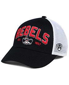 Top of the World UNLV Runnin' Rebels Black Mesh Teamwork Snapback Cap