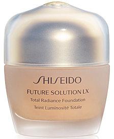 Shiseido Future Solution LX Total Radiance Foundation Broad Spectrum SPF 20 Sunscreen, 1.2 oz