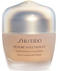 Shiseido Future Solution LX Total Radiance Foundation Broad Spectrum SPF 20 Sunscreen, 1.2 oz