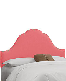 Jenny Nail Button Headboard - Full, Quick Ship