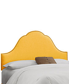 Jenny Nail Button Headboard - Queen, Quick Ship