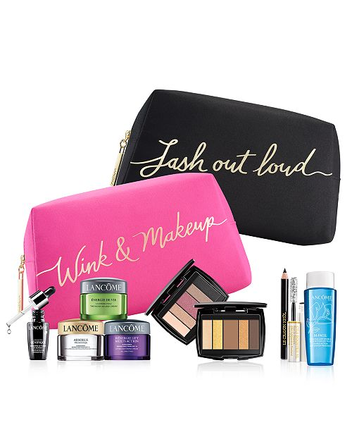 ... Lancome Customize your FREE 7-Pc. gift with any $35 Lancôme purchase ...