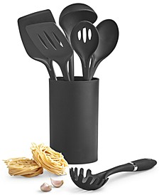 7-Pc. Nylon Tool Set & Crock, Created for Macy's