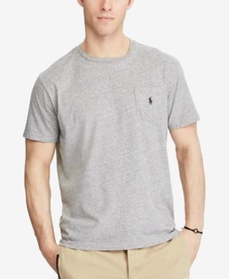 Polo Ralph Lauren Mens Big and Tall Classic Fit Pocket T-Shirt