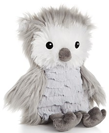 "First Impressions Baby Boys & Girls 8"" Plush Owl, Created for Macy's"
