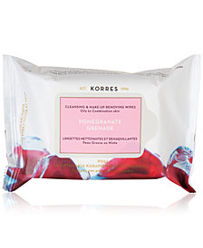 Korres Pomegranate Cleansing & Make-up Removing Wipes