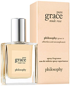 philosophy Pure Grace Nude Rose Eau de Toilette, 0.5-oz.