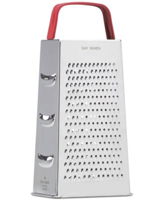 Anyway You Slice It Cheese Grater